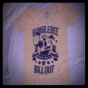 Universal studios Bumble Transformers t-shirt